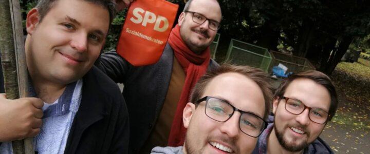 #Einheitsbuddeln in Bochum